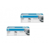 HP CE278AD duo-pack fekete toner