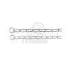 Trixie fojtó hosszúszemű nyakörv 55cm/4mm (TRX2150)