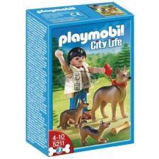 Playmobil Kutyasétáltatás-Német juhászkutyák - 5211 playmobil