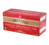 """TWININGS Fekete tea, 25x2 g, TWININGS """"English Breakfast"""" tea"""