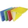 "PANTA PLAST Harmonika mappa, A4, 6 részes, PP, gumis, PANTA PLAST ""Omega"", sárga"