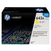 HP Q5952A Lézertoner ColorLaserJet 4700 nyomtatóhoz, HP 643A sárga, 10k