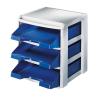 Leitz PLUS fiókos Irattálca 53270035fiókos kék PLUS