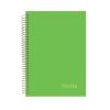 NOTTE Spirálfüzet 3in1 -40-824- Pastel zöld A/4 120 lap VON. NOTTE