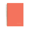NOTTE Spirálfüzet 3in1 -40-826- Pastel narancs A/4 120 lap VON. NOTTE