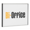 BI-OFFICE Névtábla logo -NPL04013- 15x15cm BI-OFFICE