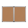 BI-OFFICE Fehér tábla+parafa tábla kihajtható 90x120 -TR02060101170- BI-OF