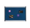 BI-OFFICE Textiltábla KÉK 90x120 alu keret ProVision -PVI050701- BI-OFFICE felírótábla