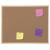 BI-OFFICE Parafatábla két oldalas fa keretes, 60x90cm   -MC070012010- BI-O