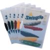 DURABLE Klipmappa -2260/07- A4 1-30lap KÉK  DURABLE Swingclip <25db/dob>
