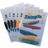 DURABLE Klipmappa -2260/03- A4 1-30lap PIROS DURABLE Swingclip<25db/dob>