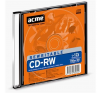 ACME CD-RW 80min/700MB 12X slim vékony tokos ACME írható és újraírható média
