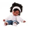 Götz Muffin GÖTZ baba, barna szemű, fekete hajú, 33 cm magas