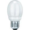 Conrad Energiatakarékos izzó, E27, 7 W, melegfehér, gömb forma, Sygonix Mini Globe