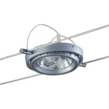 Conrad Halogén huzal felfüggesztésű lámpa, komplett készlet, G53, halogén fényforrás, alumínium, Paulmann Powerline 7059 világítás
