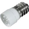 Conrad LED fényszóró, Signal Construct MCPE145368, 230 V DC/AC, foglalat: E14, piros