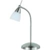 Conrad Asztali lámpa, G9, 40 W, 4430-55, Ecohalogén fényforrás, acél, Paul Neuhaus Pino
