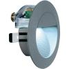 Conrad Kültéri beépíthető LED-es lámpa, fehér, kőszürke, LED fixen beépítve, SLV Downunder 230201