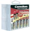 Conrad Camelion 24 részes AA elem készlet tároló dobozzal