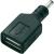 Voltcraft Autós töltő csatlakozó adapter USB csatlakozóval telefonokhoz Voltcraft