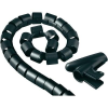 Conrad Kábelkötöző, 30 mm, fekete, Hama Easy Cover
