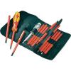 Conrad VDE cserélhető szárú csavarhúzó készlet, 17 részes, Wera Kraftform Kompakt 05 003474 001
