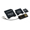 Kingston 8GB microSD memória kártya (SDHC Class 4) Mobility Kit