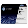 HP CE255A Lézertoner LaserJet P3015 nyomtatóhoz, HP fekete, 6k