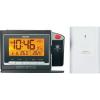 Conrad Eurochron EFP 3900 rádiójel vezérelt digitális kivetítős ébresztőóra, külső hőmérővel, 136x91x40 mm