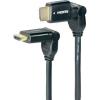 Conrad Forgatható fejű HDMI kábel 3m Speaka Professional