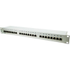 Conrad 24 portos CAT6 patch panel, 48,3 cm, LogiLink NP0040