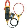 Conrad Lakatfogó műszer valódi effektív érték mérésekhez, flexibilis mérőfejjel AC/DC 0-1000 A Fluke 381