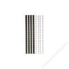 FELLOWES Spirál, műanyag, 6 mm, 10-20 lap, FELLOWES, fekete (IFW53303)
