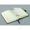SIGEL Jegyzetfüzet, exkluzív, A6, kockás, 194 lap, keményfedeles, SIGEL Conceptum, fekete (SVC131)