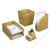 REXEL Írószer- és jegyzettömbtartó, bambusz, REXEL Bamboo (IKR2102373)