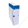 VICTORIA Archiváló doboz, A4, 80 mm, karton, VICTORIA, fehér (IDVAD08)