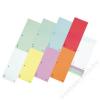 DONAU Elválasztócsík, karton, DONAU, vegyes színek (D86201V)