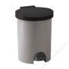 CURVER Pedálos szemetes, műanyag, 15 l, CURVER, szürke (UCPE15LU)