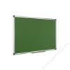 . Krétás tábla, zöld felület, nem mágneses, 90x120 cm, alumínium keret (VVK03)