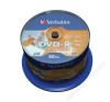 Verbatim DVD-R lemez, nyomtatható, matt, no-ID, 4,7GB, 16x, hengeren, VERBATIM (DVDV-16B50PP) írható és újraírható média