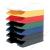 HELIT Irattálca, műanyag, HELIT Economy, fehér (INH2361605)