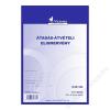 VICTORIA Nyomtatvány, átadás-átvételi elismervény, 25x3, A5, VICTORIA B.13-69 (NVB1369)