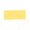 ESSELTE Elválasztócsík, karton, ESSELTE, sárga (E20994)