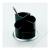 HELIT Írószertartó, forgatható, HELIT, fekete-ezüst (INH6220599)