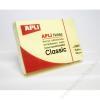 APLI Öntapadó jegyzettömb, 50x75 mm, 100 lap, APLI, sárga (LNP10971)