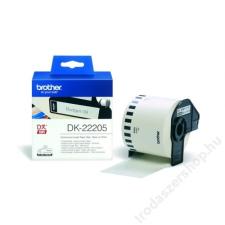 Brother Papírszalag, QL nyomtatóhoz, 62 mm x 30,48 m, BROTHER (QPTDK22205) etikett