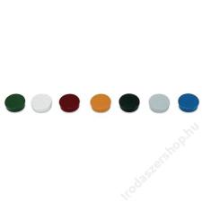 . Mágneskorong, 30 mm, 10 db, kék (VVBM35KE) mágneskorong, mágnesszalag