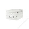 Leitz Irattároló doboz, A4, lakkfényű, LEITZ Click&Store, fehér (E60440001)