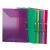 VIQUEL Gumis mappa, 15 mm, PP, A4, VIQUEL Propyglass, zöld (IV113342)