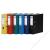 DONAU Iratrendező, 75 mm, A4, PP/karton, élvédő sínnel, DONAU Master, kék (D3967K)